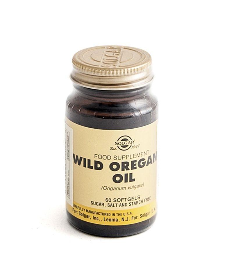 Aceite De Orégano Silvestre Solgar 60Uds