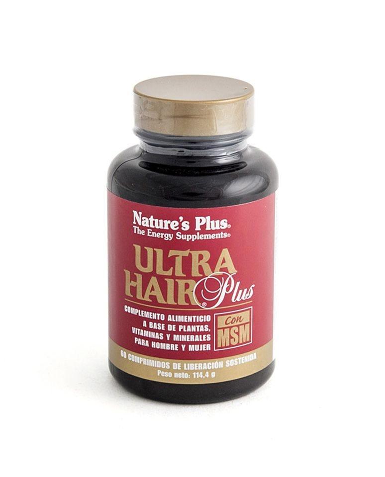 Ultra Hair Plus Con Msm De Natures Plus Nature'S Plus 60Ud