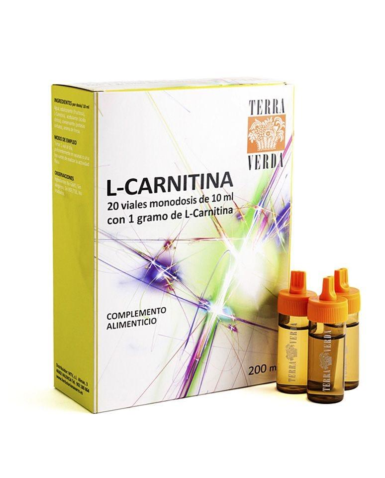 L-Carnitina 1000 Mg Terra Verda 20Uds
