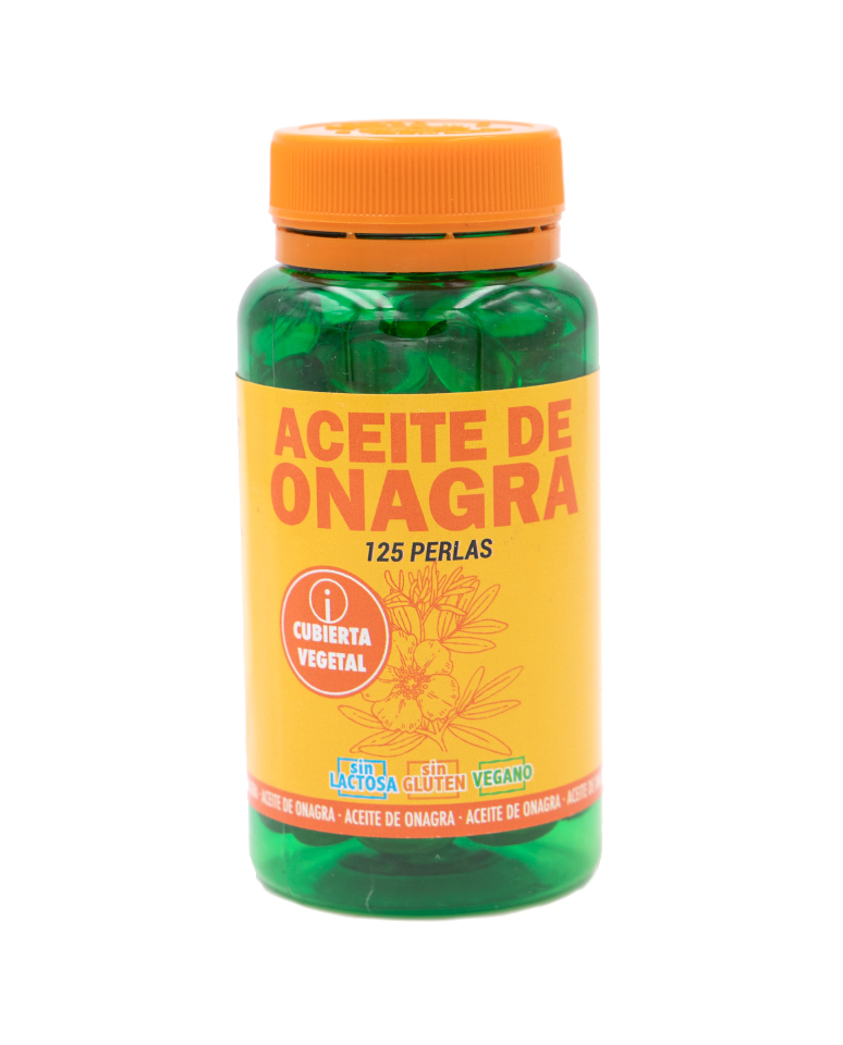 Aceite De Onagra En Perlas De 500Mg Terra Verda 125Uds