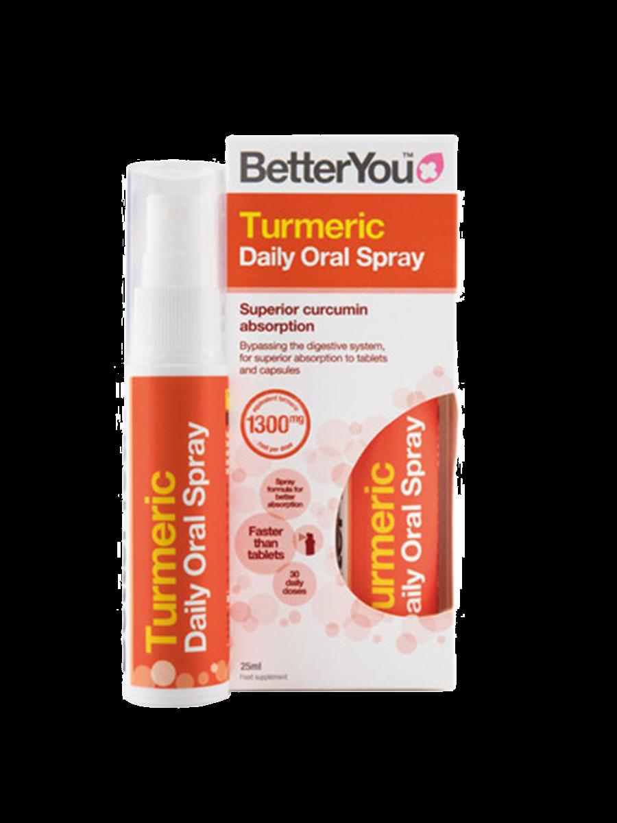 Spray Oral De Cúrcuma Better You 25Ml
