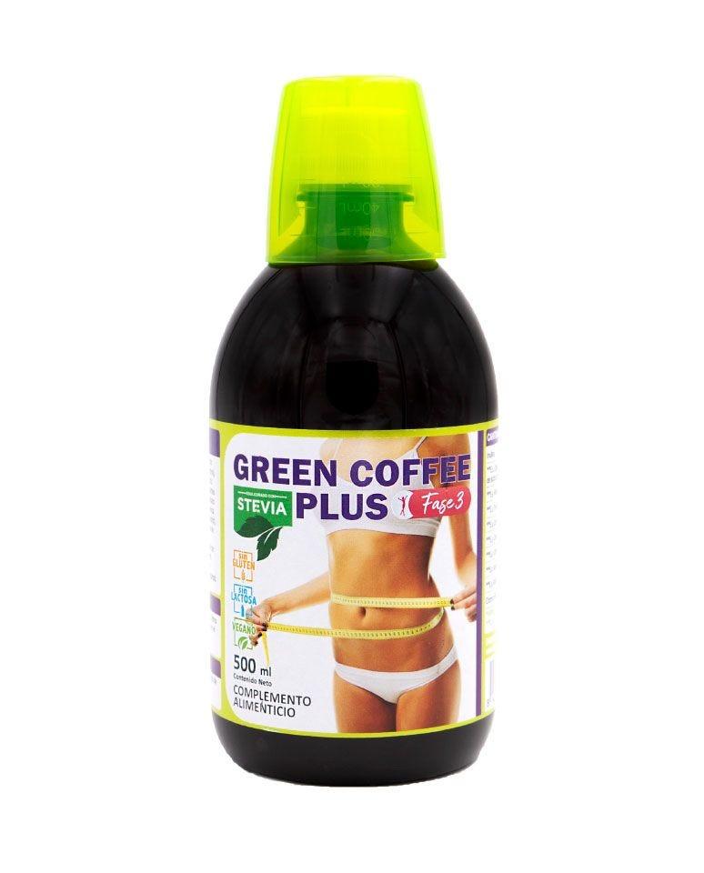 Green Coffee Plus Vientre Plano Fase Nº3 Terra Verda 500Ml